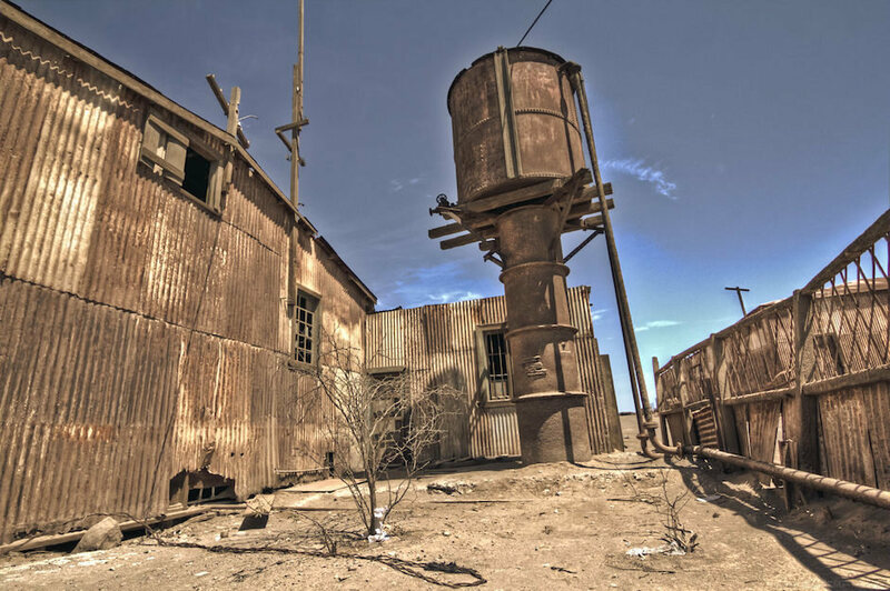 haunted mining towns