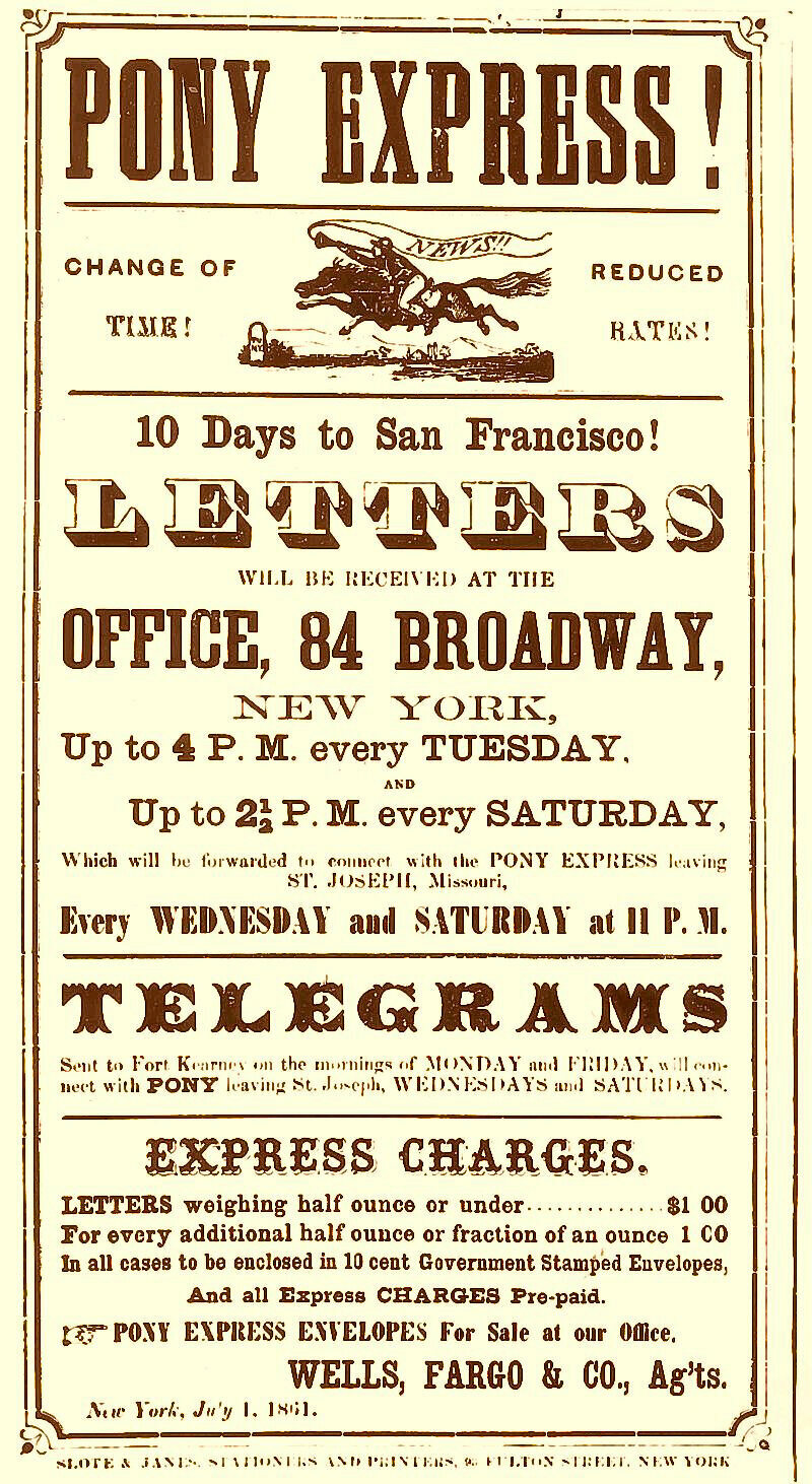 10 days from NT to SF! (1861)