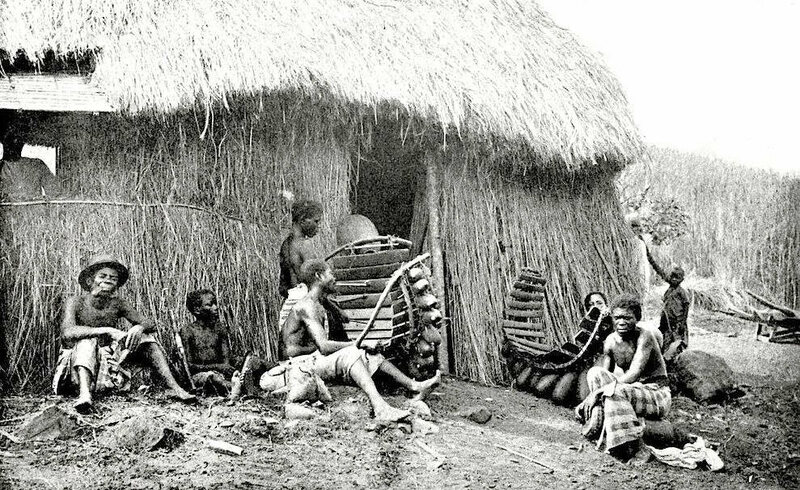 Sirimba Players in Congo, from Kingsley's West African Studies (Photo: Courtesy of The Victorian Web)