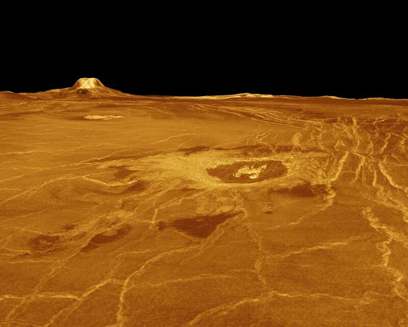 The surface of Venus—or of a polywater-addled Earth, according to some experts.