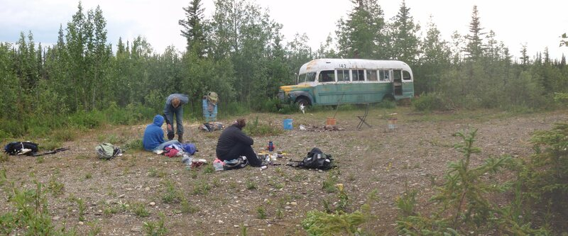 Bus 142 on the Stampede Trail