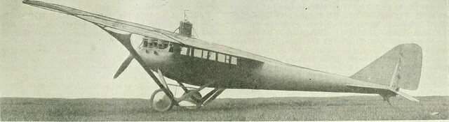 A Jacuzzi monoplane, in 1921