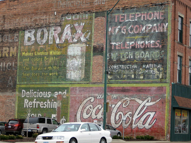 Ghost sign, Fort Dodge