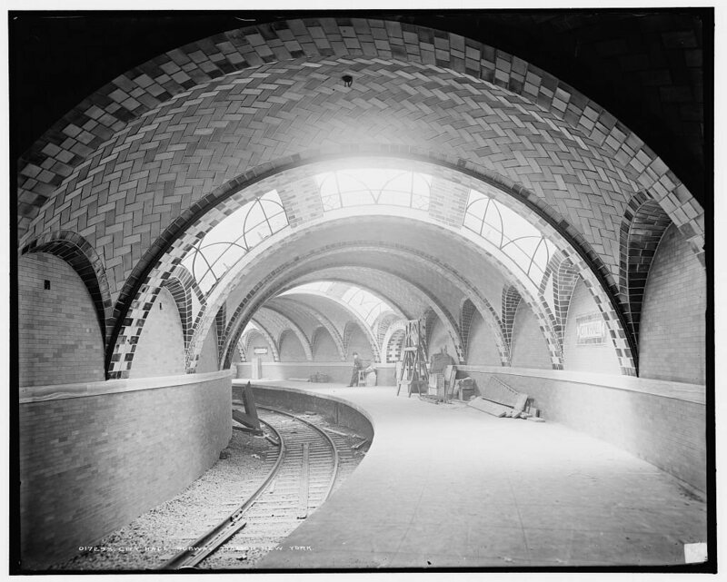 The City Hall station of the IRT Lexington Avenue Line opened on October 27, 1904.