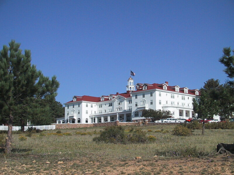 "The Stanley Hotel, Colorado, the inspiration for Hotel Overlook in Stephen King's ""The Shining"""