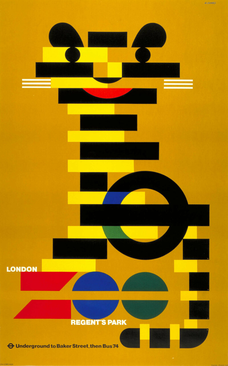 Glorious Posters From the Golden Years of the London Tube