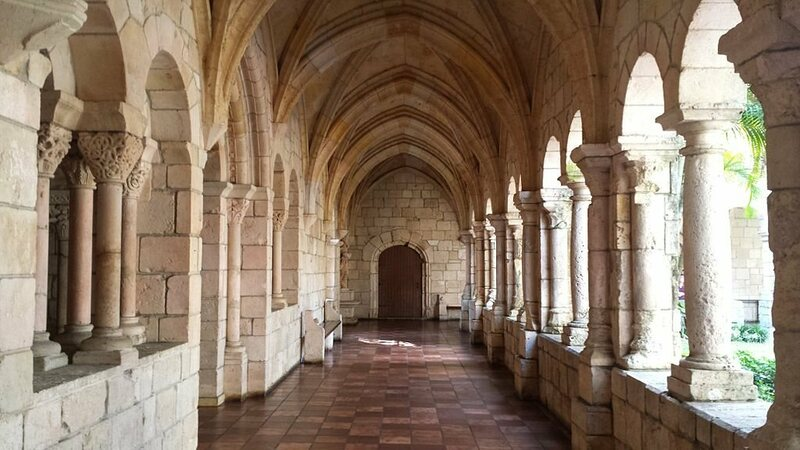 The cloisters at St. Bernard de Clairvaux Church, Miami.