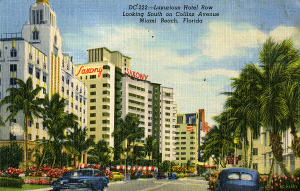 Miami of the 1950s, and future home to St. Bernard de Clairvaux