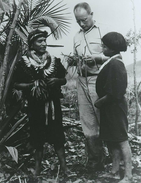 Dr. Richard Evan Schultes in the Amazon