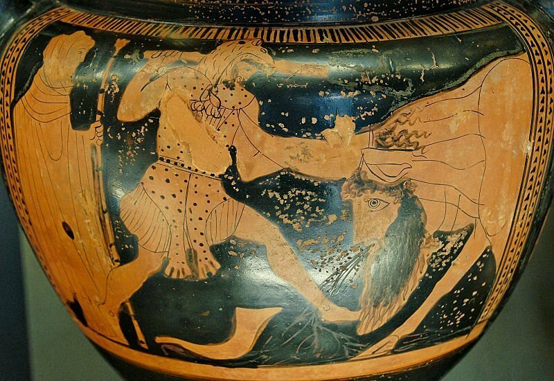 From Zeus to Williams-Sonoma: The History of the ... Achelous River God