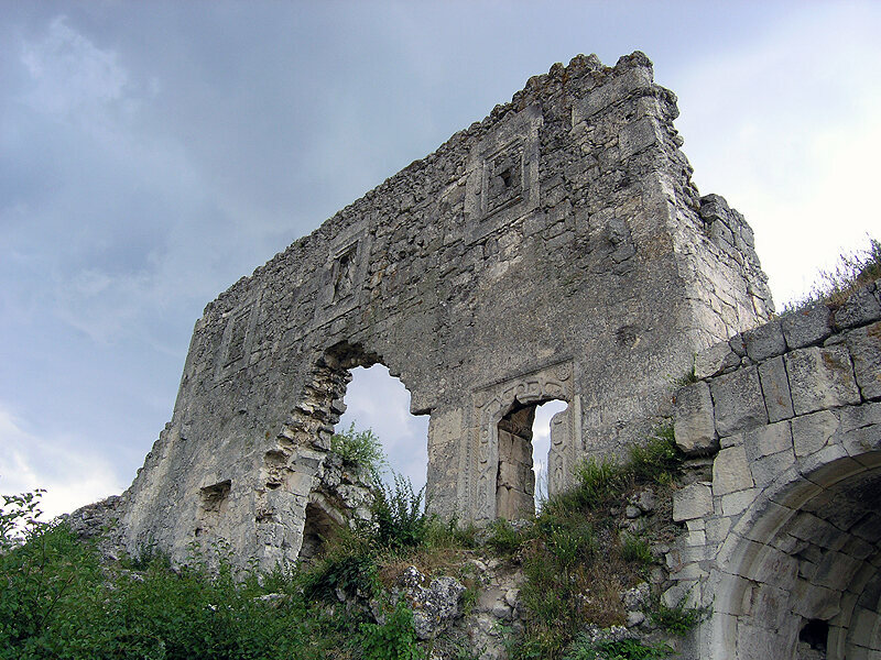 Mangup, a historic fortress in Crimea