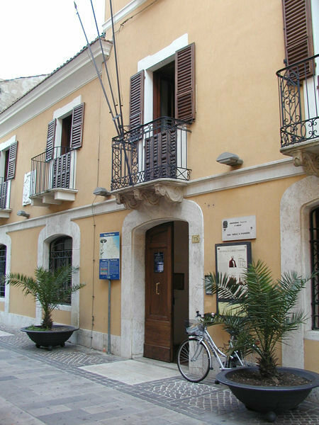 D'Annunzio's birth museum house in Pescara