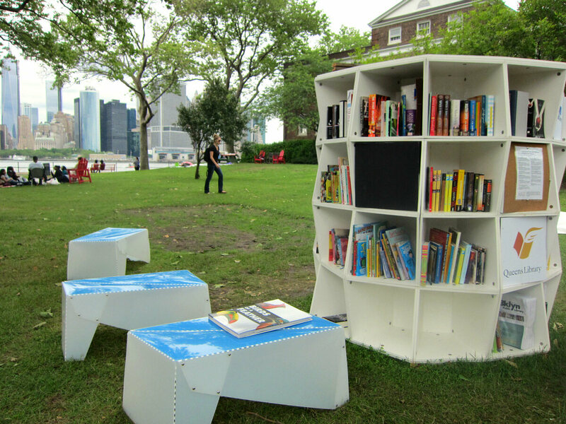 A Mobile Reading Room Pops Up On An Nyc Island Atlas Obscura