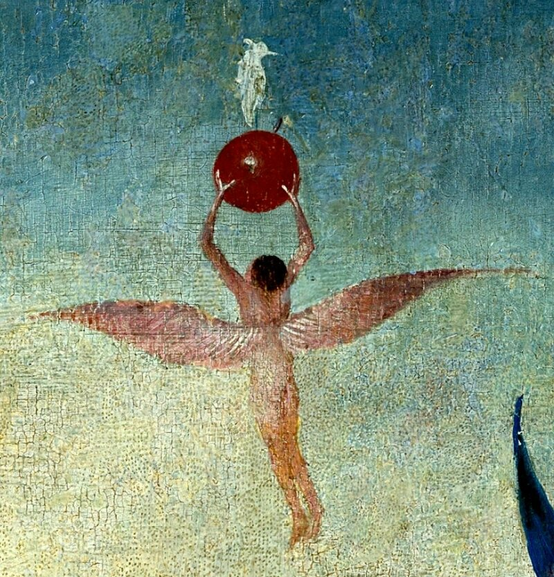 Detail from Hieronymus Bosch's The Garden of Earthly Delights