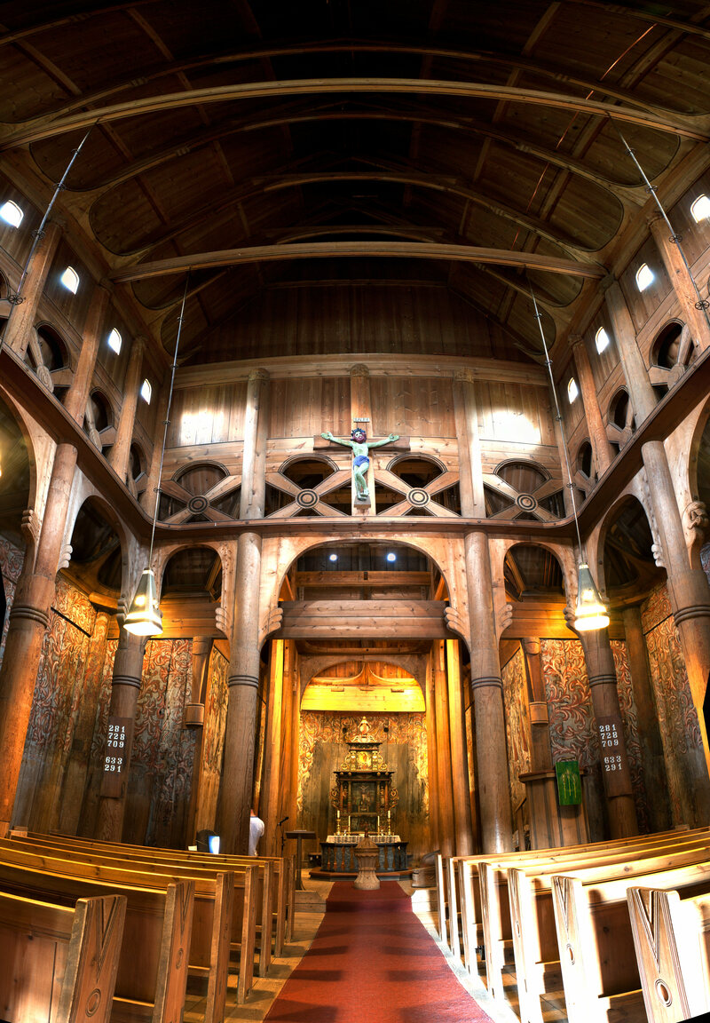 Stave Churches Are All Wood, Dragons, and Beauty