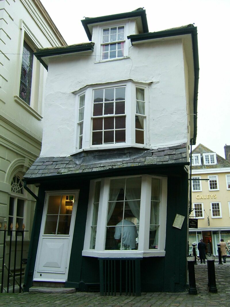The Asymmetrical Charm Of Crooked Houses Atlas Obscura