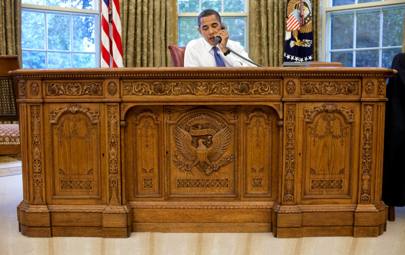 The Resolute Desk Is The Greatest Of The Presidential Desks Photo Pete Souza Public Domain