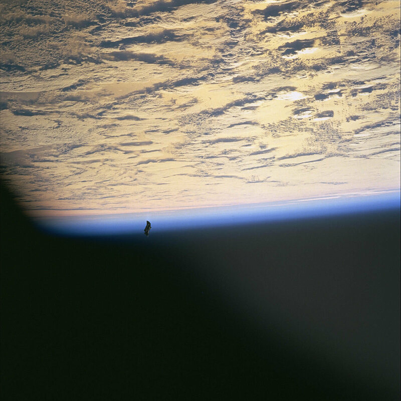"""The """"Black Knight Satellite""""—the space blanket that escaped from NASA and became a conspiracy theory."""