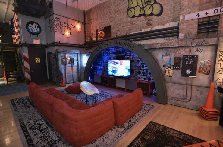 Spend A Night In The Teenage Mutant Ninja Turtles Secret