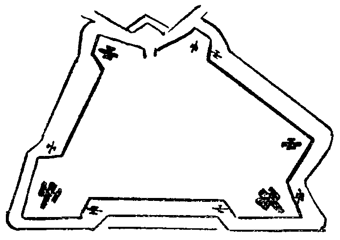 A map hidden in an illustration of a butterfly