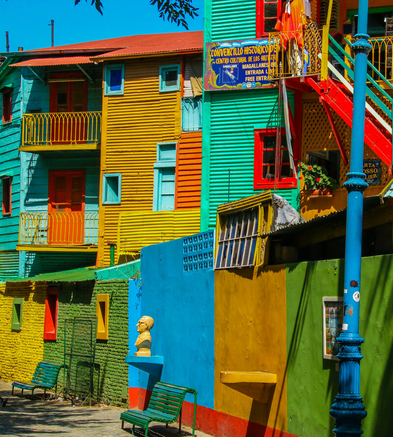 8 Colorful Cities that Look Like They Were Designed by ...