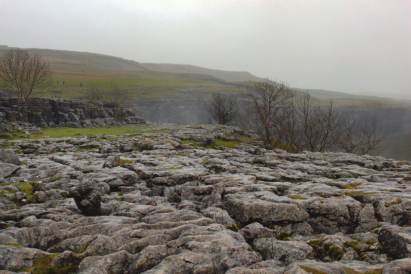 Limestone pavement you might recognize as a place where Harry and Hermione camped in the Weasleys' magic tent