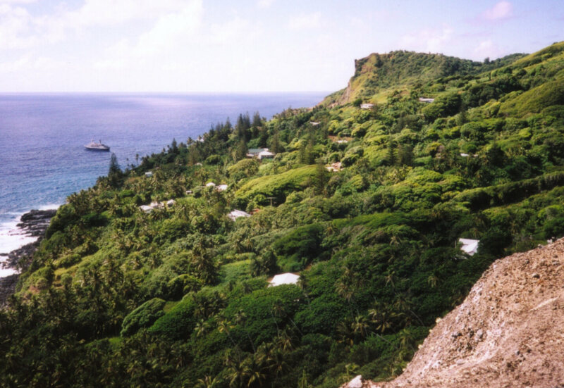 Adamstown on Pitcairn Island