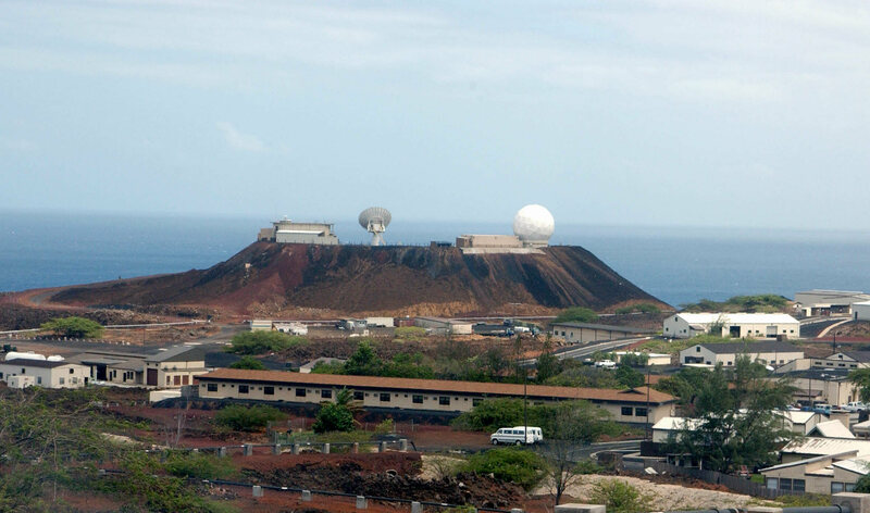 Site of the U.S. Air Force Facility on the island and later NASA missile tracking.