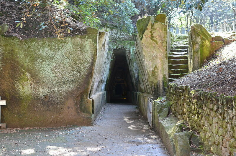 Entrance to the Cave of the Sibyl