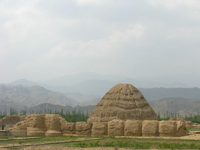 The imperial pyramids of Yinchuan