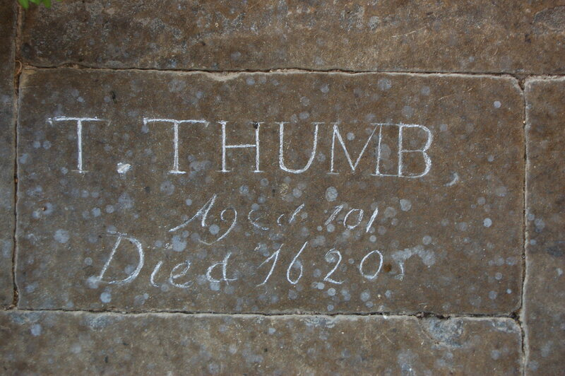 The Grave of Tom Thumb