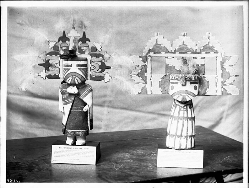 Kachina dolls were used in Arizona as a more modern quit rent.