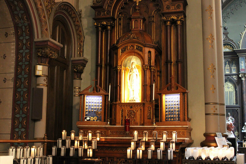 St. Anthony's Chapel holds around 5000 relics.