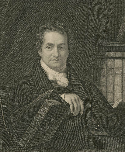 Thomas Frognall Dibdin, English bibliographer and bibliomaniac.
