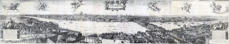<em>Long View of London from Bankside</em>, 1647