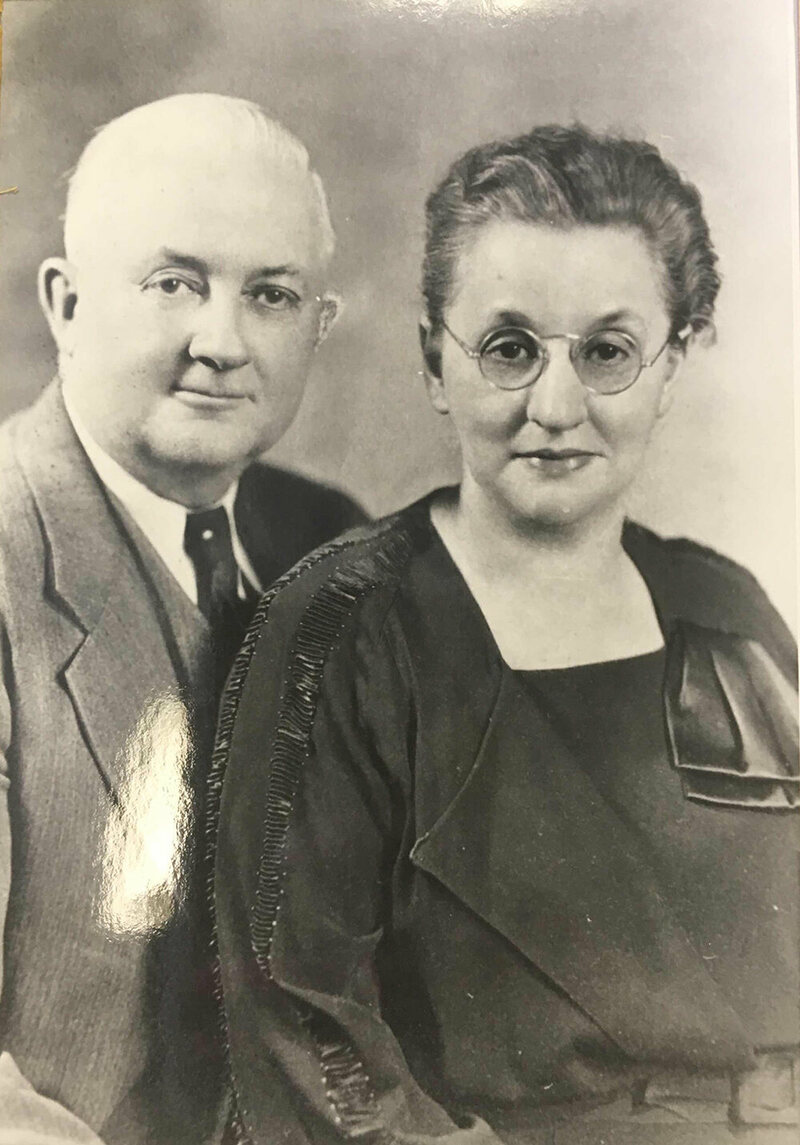 H.B. Reese and his wife Blanche.
