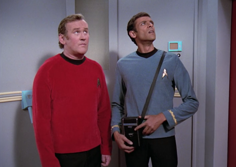 You'd never know they were actually from the 24th century.