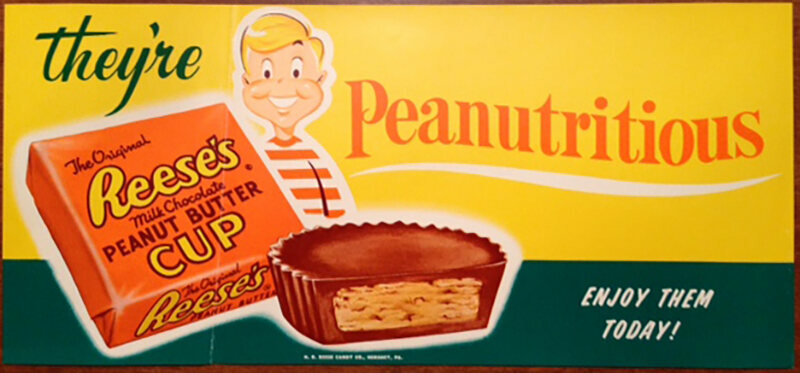 By the late 1960s, Reese's was selling over 300 million cups annually.