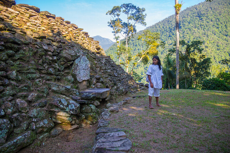 A throne, once used by the leaders of the Lost City, sits before wide clearings used for ceremonies and dances.