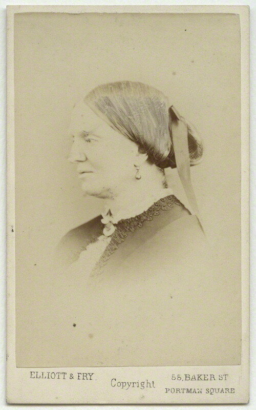 Margaret Gatty, photographed by Elliott & Fry in 1860.