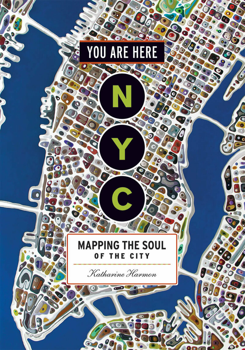 The map is part of the new book <em>ou Are Here: NYC: Mapping the Soul of the City</em> by Katharine Harmon, published by Princeton Architectural Press.