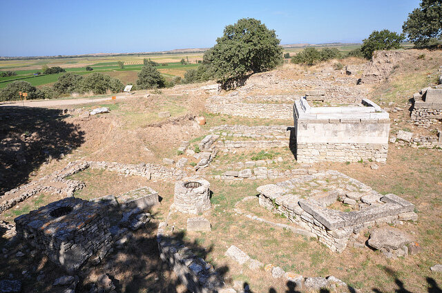 The ruins of Troy.