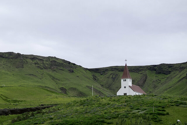 Funeral practices in Iceland and mostly controlled and influenced by the National Church.