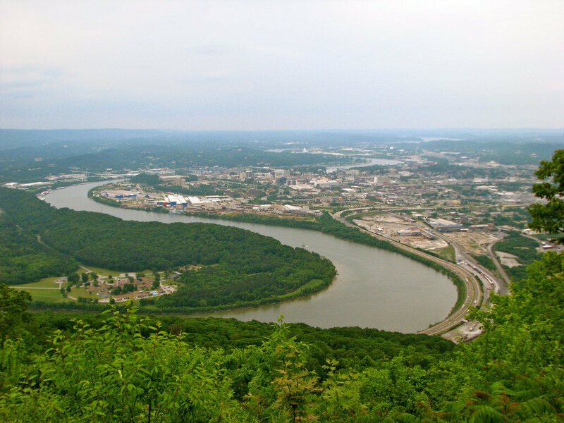 A view across Chattanooga.