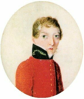 A well-known miniature portrait of Barry painted between 1813 and 1816, right before his first posting abroad. Barry gifted it to the patient he performed the cesarean operation on.