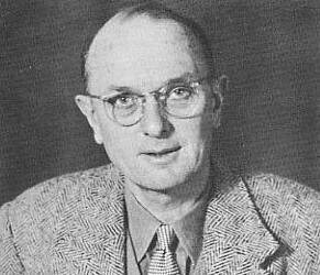 Christopher Clayton Hutton in 1940, just after he begun working for the War Office.