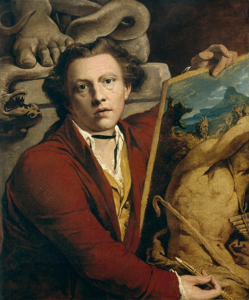 A self-portrait of the artist James Barry, Bulkley's uncle.