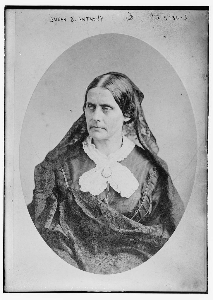 Susan B. Anthony was a client and a friend of Harper's.