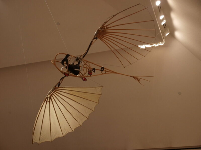 The Letatlin on display at the Moderna Museet Collection, Stockholm.
