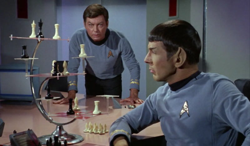 Space chess is here but no one is playing atlas obscura - Star trek tridimensional chess ...